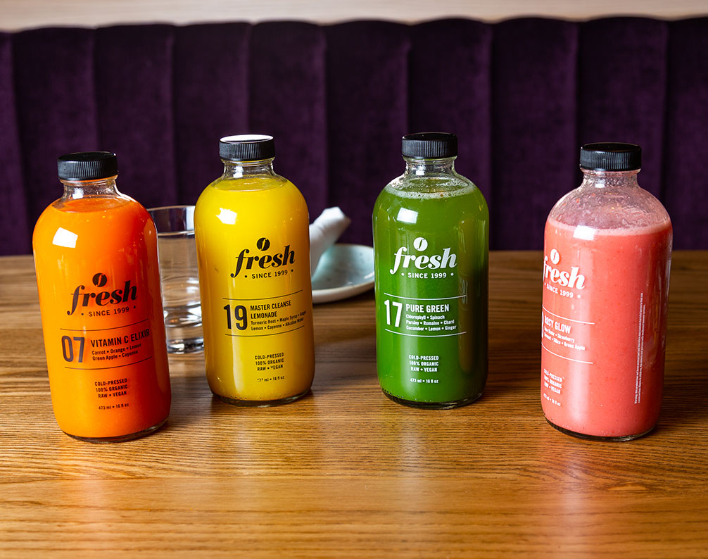Fresh Cold Pressed Juice