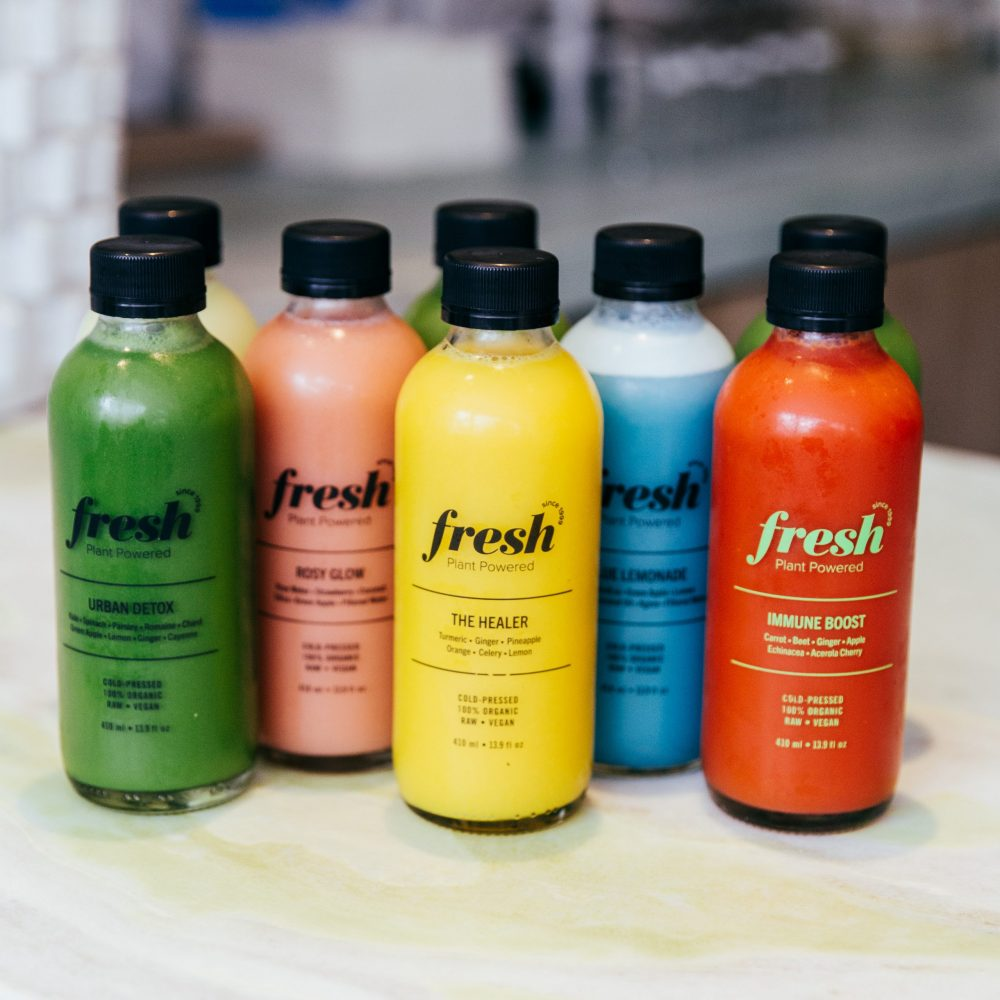 Cold Pressed Juice at Fresh